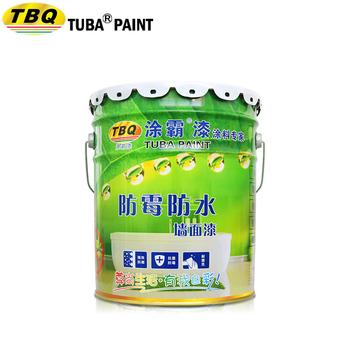Tuba High Quality Eco Friendly Anti Mildew Waterproof Emulsion Paint Interior Latex