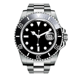 316L Stainless Steel Quartz Mens Watch Diver