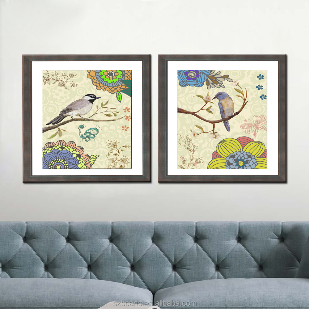 livingroom decoration Chinese Classical Animal Art Bird Canvas Print Painting