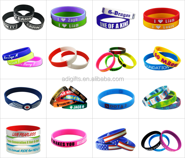 Best friends free silicone rubber band ball accessories bracelet