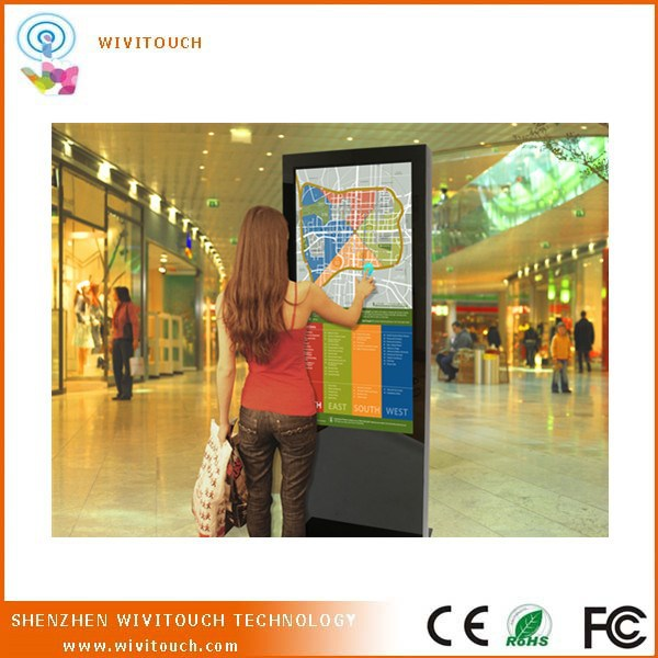 Wireless Interactive Advertising/Information Kiosk for Airport