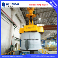 QHMAG hot steel roll coil permanent electromagnets for sale