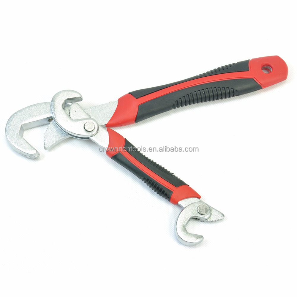 CROWNRICH UNIVERSAL MULTI-FUNCTION WRENCH TOOLS GRIFF 6-32 MM EINSTELLBARE SCHNELLE MULTI-FUNCTION 2 STÜCK