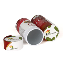 Custom printed round tube gift box wholesale biodegradable cardboard paper tube