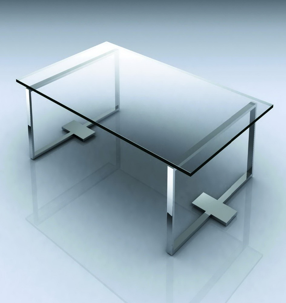 3-19mm Tempered Glass Dining Table