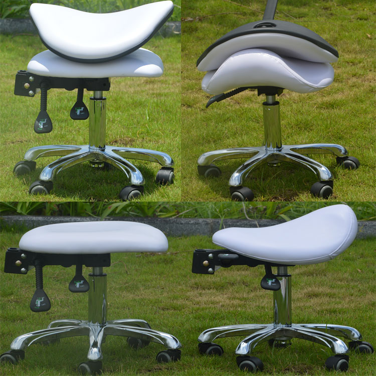 Hospital Medical Standing Doctors Nurse Stool Chairs with Wheels