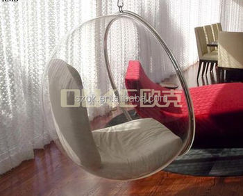 Wholesale high craft new style acrylic hanging bubble chair