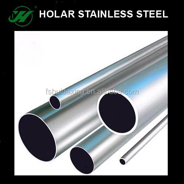 stainless steel tube pipe satin/mirror finish