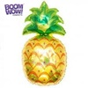 Boomwow wholesale fruit pineapple shaped mylar helium balloons for baby shower birthday party decoration
