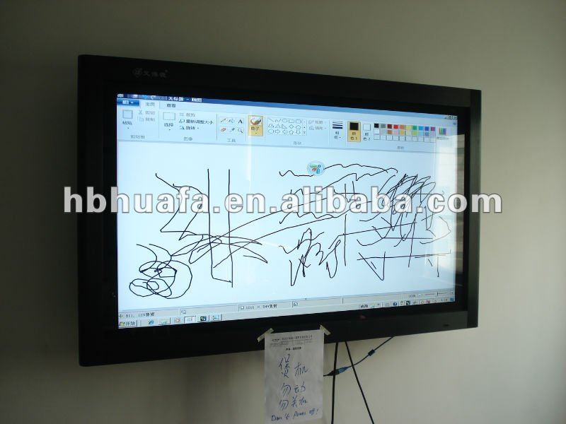 65inch IR multi touch screen overlay kit for LCD TV