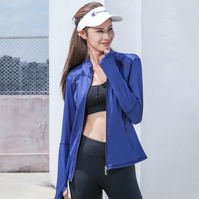 Autumn/winter Women Yoga Clothing Long-sleeved Jacket 7