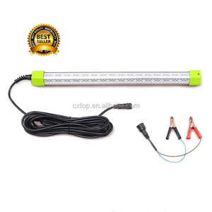DC 12V Green White Blue LED Fishing Light