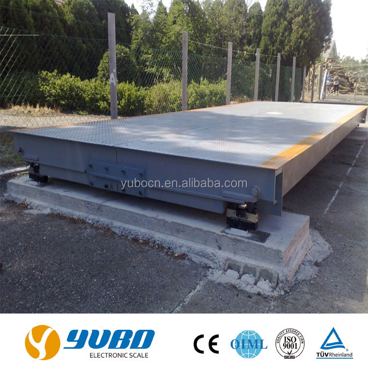3*18m 120t platform scales truck weighbridge for sale