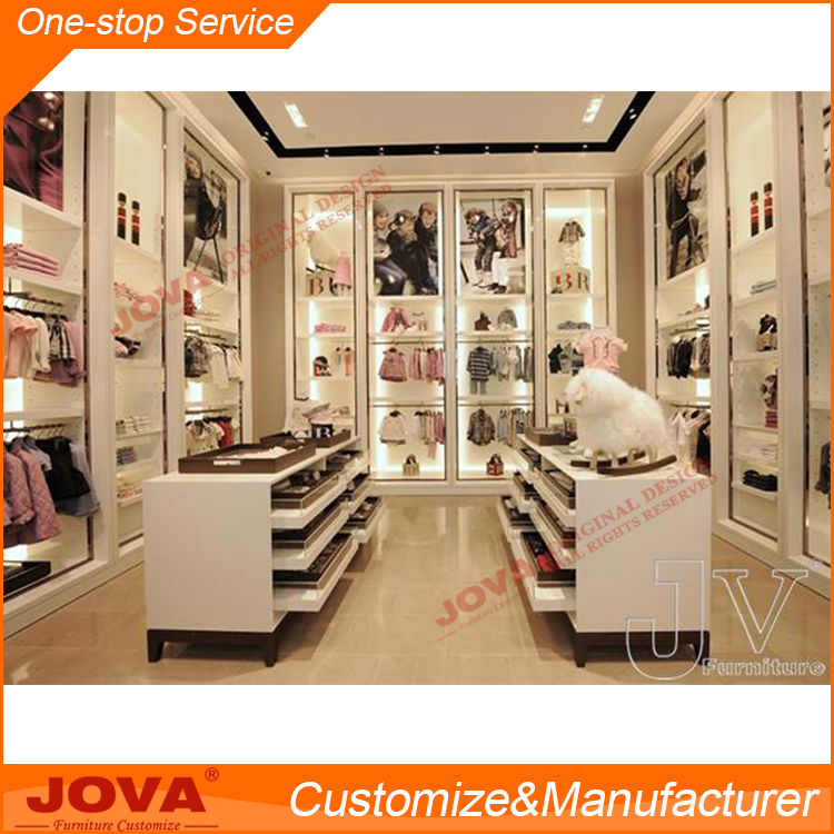 baby clothes store interior design fixtures design
