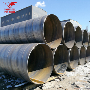 alibaba website china products large diameter hot rolled black pipe ssaw steel pipe Spiral welded Steel Pipe