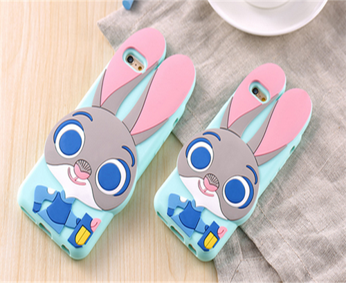 New hot design 3d silicone phone case cover cute fashion 2015 hot new design rubber phone case