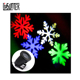 Christmas goods house lawn snow flake light laser projector led snow projection light
