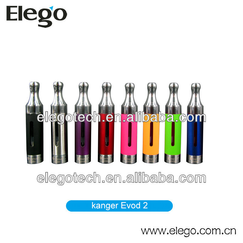 2014 Newest Bottom Coil eVod Atomizer Huge Vapor Cigarette Wholesale Price Kanger Tech Evod 2