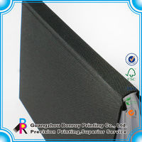 Custom Hardcover Fabric Cloth Cover Notebook Wholesale