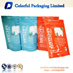 Factory Manufacture wholesale stand up zipper small sachet packets