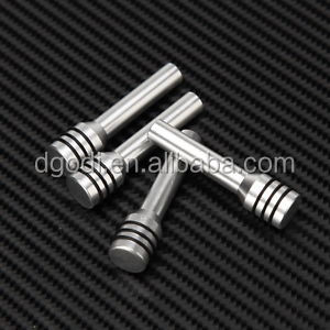 custom aluminum auto car door lock pin