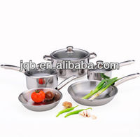 8pcs high quality carbon steel cookware