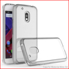Clear Plastic Acrylic Phone Case Transparent Covers For Motorola moto G4 soft Shell Case