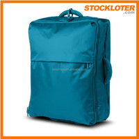 150307c Cheap Foldable Trolly Bag luggage closeout hot sales