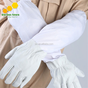 Leather Beekeeping Gloves to Protect Beekeeper from Bee Attacking Beekeeping Tool