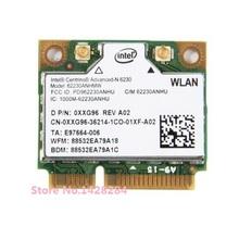 New for Intel Centrino Advanced-N 6230 62230ANHMW Mini PCI-e Wifi Bluetooth 3.0 802.11 a/b/g/n 2.4G/5 GHZ Wireless Card 300Mbps