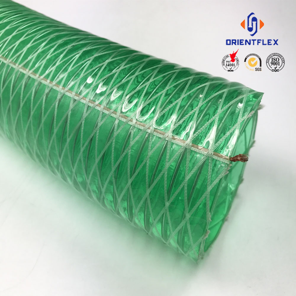 Wholesale Cheapest Price spiral high performance hot water conveying flexible wire reinforced hose for sale