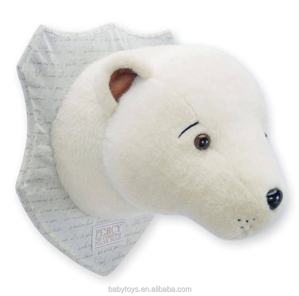Hot selling Animal head wall decor Polar bear head Christmas decor ...