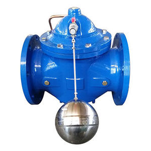 ductile iron 100x float ball valve for water tank pn110/pn16/class150