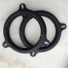 2Pcs/Lot Plastic Car Door Speaker Mount Adapter Plates Frame Suitable for Nissan Qashqai X-TRAIL Serena Kia K2 Car Accessories