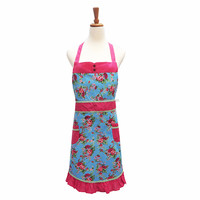 2018 Meita Vintage design pattern beauty salon apron