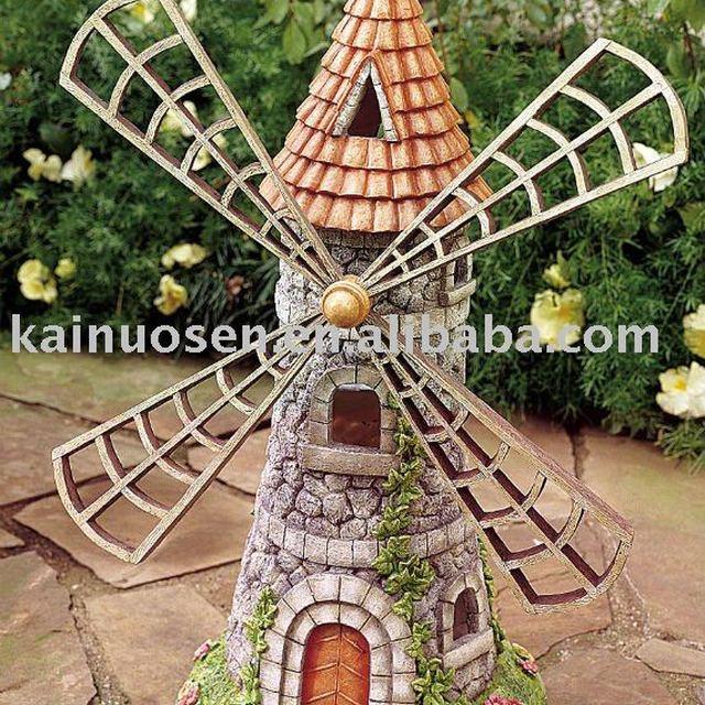 Polyresin Garden Ornaments , Polyresin Windmill