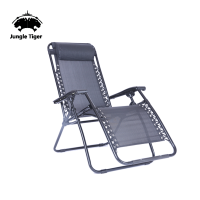 Outdoor leisure folding deck backrest aluminium beach chair/chaise lounge