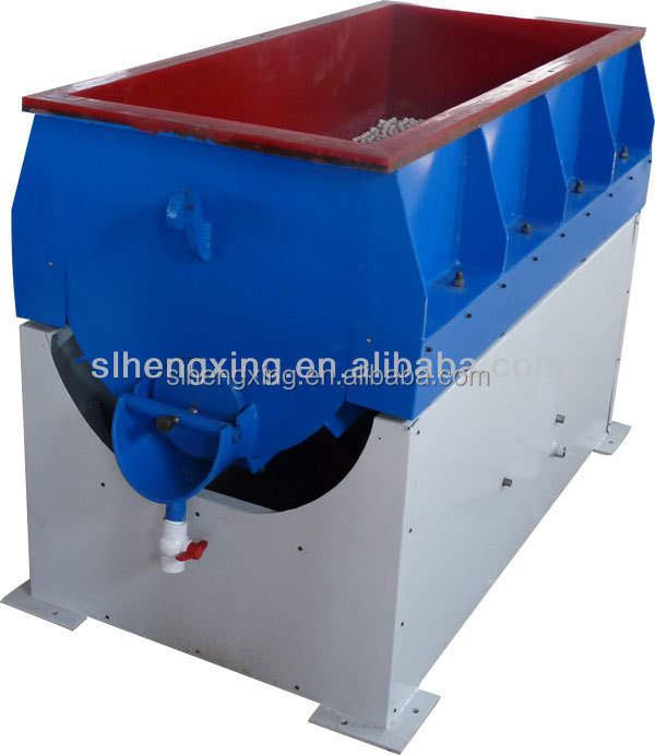 Horizontal Vibratory car alloy wheel rim polishing machine