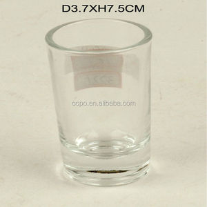2018 new cheap Promotion Decal Print Shot Glass / shot glass / souvenirs Promotion Decal Print Shot Glass