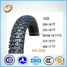 china cross motorcycle tire 3.00-18