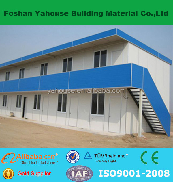 Durable economic comfortable beautiful cheap construction flat roof house