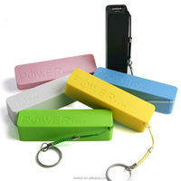 Perfume External Battery Charger Portable Power Bank with USB Cable For Phone 2600mah