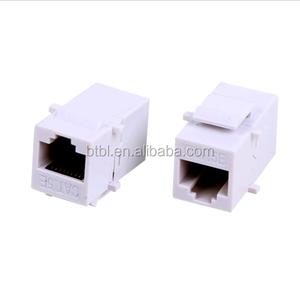 SM-2033C5E Keystone Jack CAT5 UTP 8P8C INLINE COUPLER Modular Connector