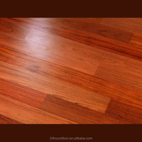 Good quality smooth Brazilian jatoba hardwood floor