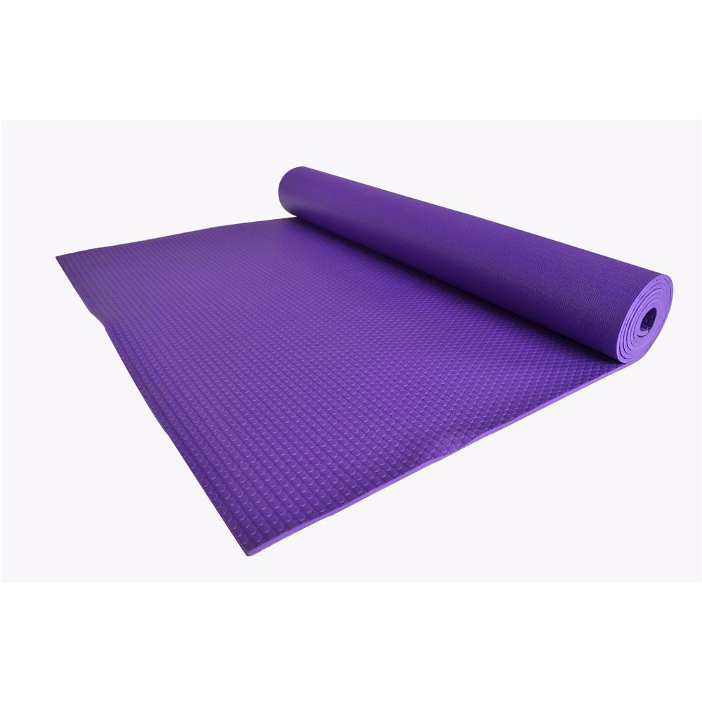 Best selling Custom Gym Waterproof Eco Natural Rubber Yoga Mat And High Quality PVC