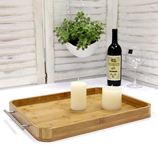 Bamboo-breakfast-butler-serving-tray-with-stainless