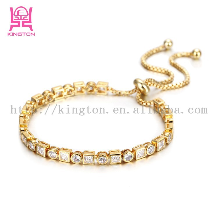 Indian Gold Bracelet Designs Girls Fancy Zircon Bracelet - Buy ...