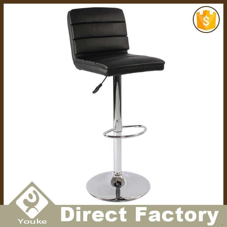 Latest trendy pu leather night club chair swivel lounge chair of mid-back wholesale