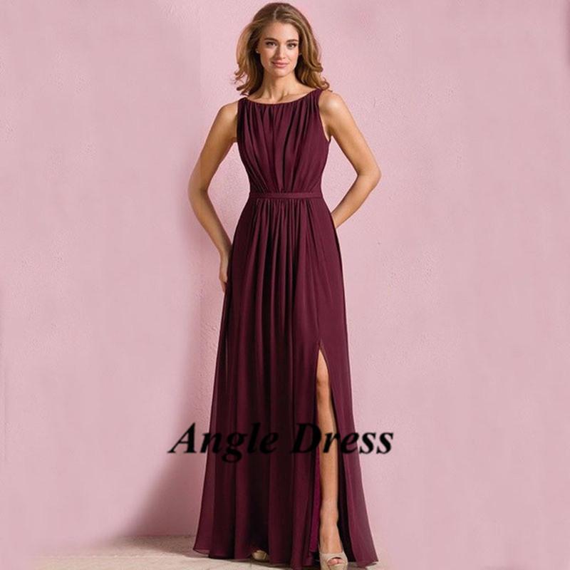 popular burgundy bridesmaid dresses buy cheap burgundy bridesmaid dresses lots from china. Black Bedroom Furniture Sets. Home Design Ideas