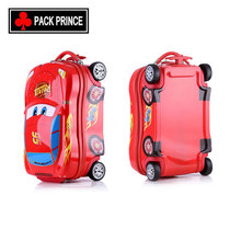 PC ABS car design children cartoon characters luggage